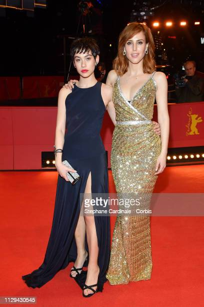 Natalia de Molina and Greta Fernandez attend the premiere for the screening of the Netflix film Elisa Y Marcela during the 69th Berlinale...