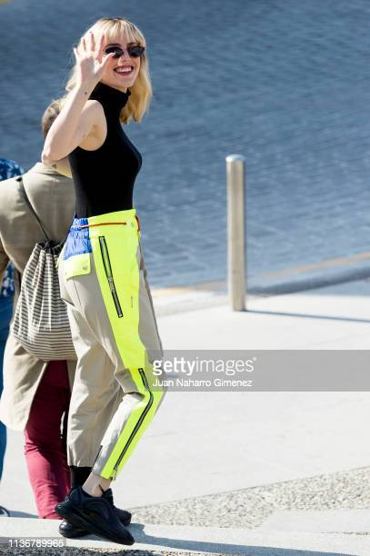 Natalia de Molina attends '522 Un Gato Un Chino and My Father' photocall during the 22th Malaga Film Festival at Muelle Uno on March 19 2019 in...