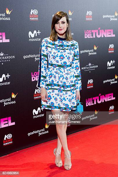 Natalia de Molina attends 'Los Del Tunel' premiere during the Madrid Premiere Week at Callao Cinema on November 21 2016 in Madrid Spain