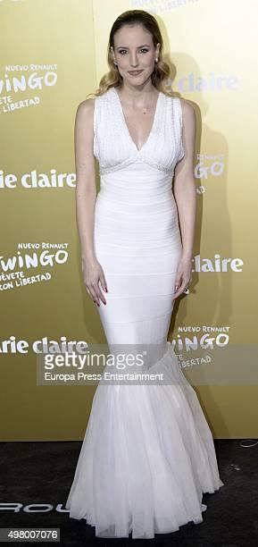 Natalia de Molina attends Marie Claire Prix de la Moda Awards 2015 at Callao cinema on November 19 2015 in Madrid Spain