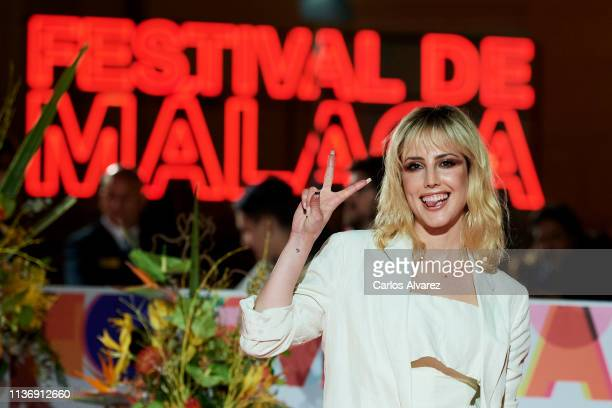 Natalia de Molina attends 'Staff Only' premiere at the Cervantes Theater during the 22th Malaga Film Festival on March 19 2019 in Malaga Spain