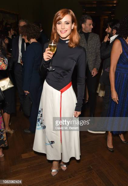Natalia de Molina attends the Academy Of Motion Pictures Arts and Sciences 2018 new members party at The National Gallery on October 13 2018 in...