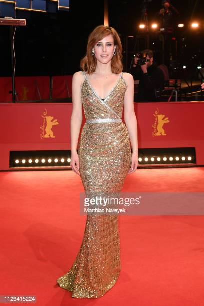 Natalia de Molina attends the premiere for the screening of the Netflix film Elisa Y Marcela during the 69th Berlinale International Film Festival...