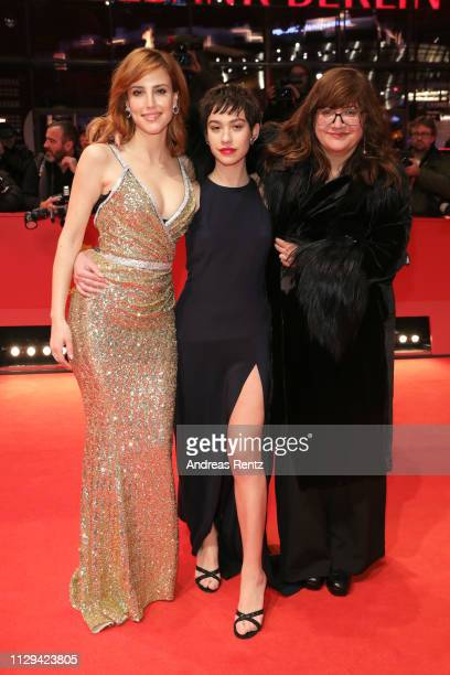 Natalia de Molina Greta Fernandez and Director Isabel Coixet attend the Elisa Y Marcela premiere during the 69th Berlinale International Film...