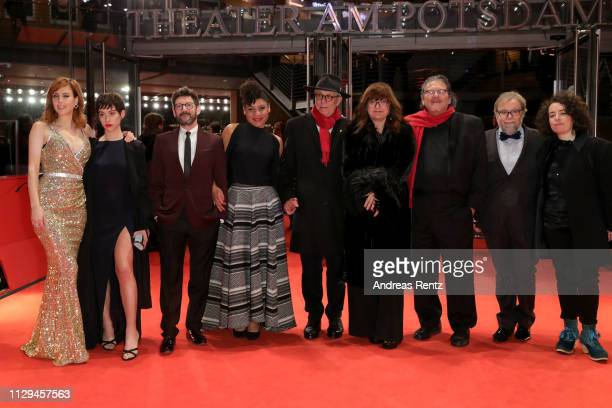 Natalia de Molina, Greta Fernandez, Manolo Solo, Kelly Lua, Festival director Dieter Kosslick, Director Isabel Coixet and guests attend the premiere...