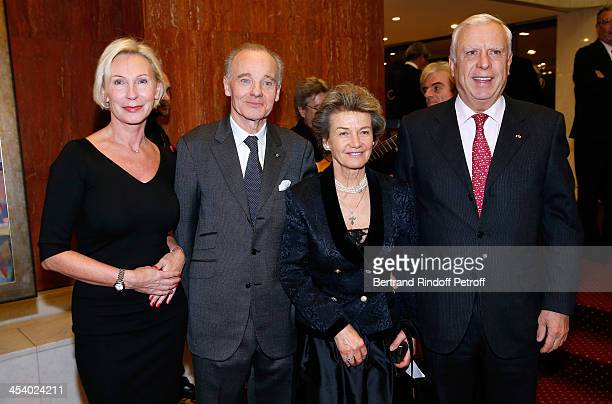 Natalia Descombes FounderPresident of the European Association of Saint Vladimir Prince Constantin Mourousy Princess Suzanne Mourousy and Kristo...
