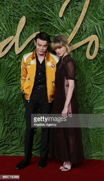 Natalia Dyer and Charlie Heaton attend 'The Fashion Awards 2017' in partnership with Swarovski at Royal Albert Hall in London United Kingdom on...