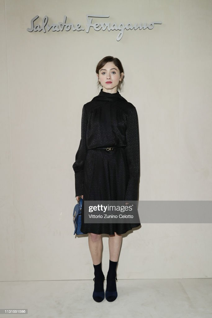 Natalia Dyer Attend The Salvatore Ferragamo Show During Milan Fashion News Photo Getty Images