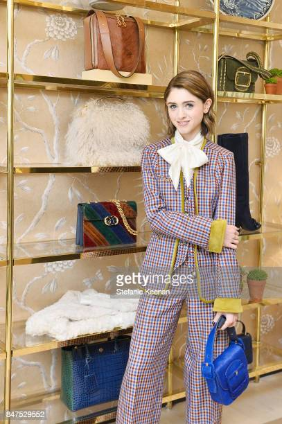 Natalia Dyer attends Glamour x Tory Burch Women To Watch Lunch on September 15 2017 in Beverly Hills California