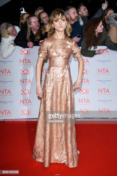 Natalia Dyer attends the National Television Awards 2018 at The O2 Arena on January 23 2018 in London England