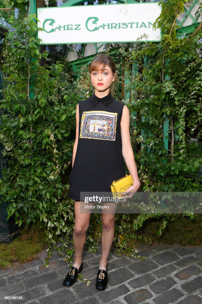 Natalia Dyer attends the Welcome Dinner of the Christian Dior Couture S/S 2019 Cruise Collection on May 24, 2018 in Paris, France.