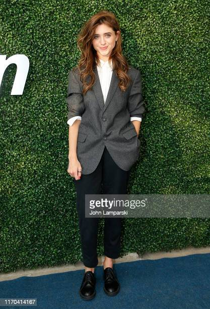 Natalia Dyer attends USTA 19th Annual Opening Night Gala Blue Carpet at USTA Billie Jean King National Tennis Center on August 26 2019 in New York...