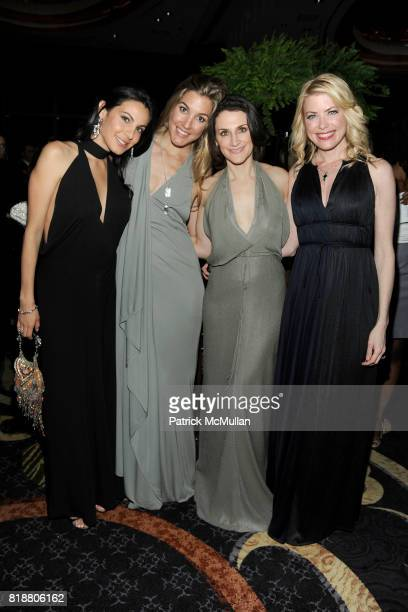 Natalia Echavarria Marisa Brown Emilie Rubinfeld and Amy McFarland attend NEW YORKERS FOR CHILDREN Spring Dinner Dance Presented by AKRIS at The...