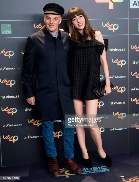 Natalia Ferviu attends 40 Principales Awards candidates dinner 2017 on September 14 2017 in Madrid Spain