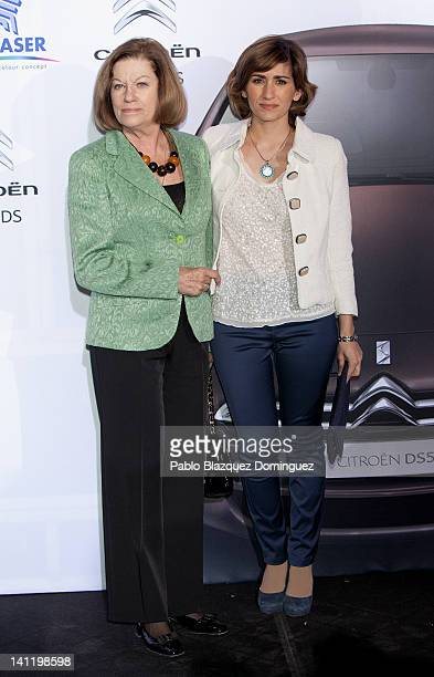 Natalia Figueroa and Alejandra Martos attend 'Bababa Colecciones' presentation on March 12 2012 in Madrid Spain