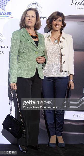 Natalia Figueroa and Alejandra Martos launch fashion and jewels new collection 'Bababa Colecciones' on March 12 2012 in Madrid Spain