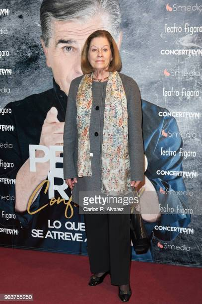 Natalia Figueroa attends 'Confidencial' premiere at the Figaro Theater on May 30 2018 in Madrid Spain