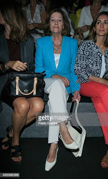Natalia Figueroa attends Mercedes Benz Fashion Week Madrid at Ifema on September 13 2014 in Madrid Spain