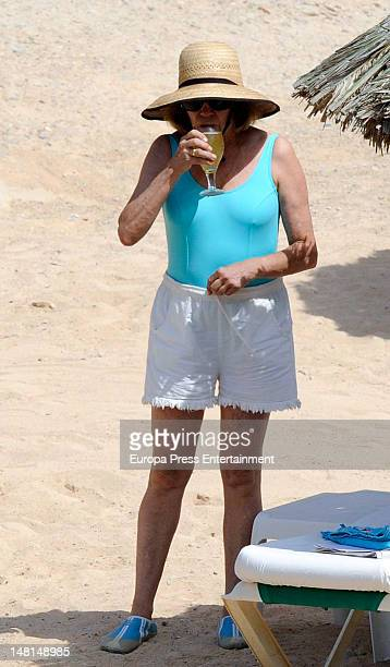 Natalia Figueroa is seen on July 10 2012 in Ibiza Spain