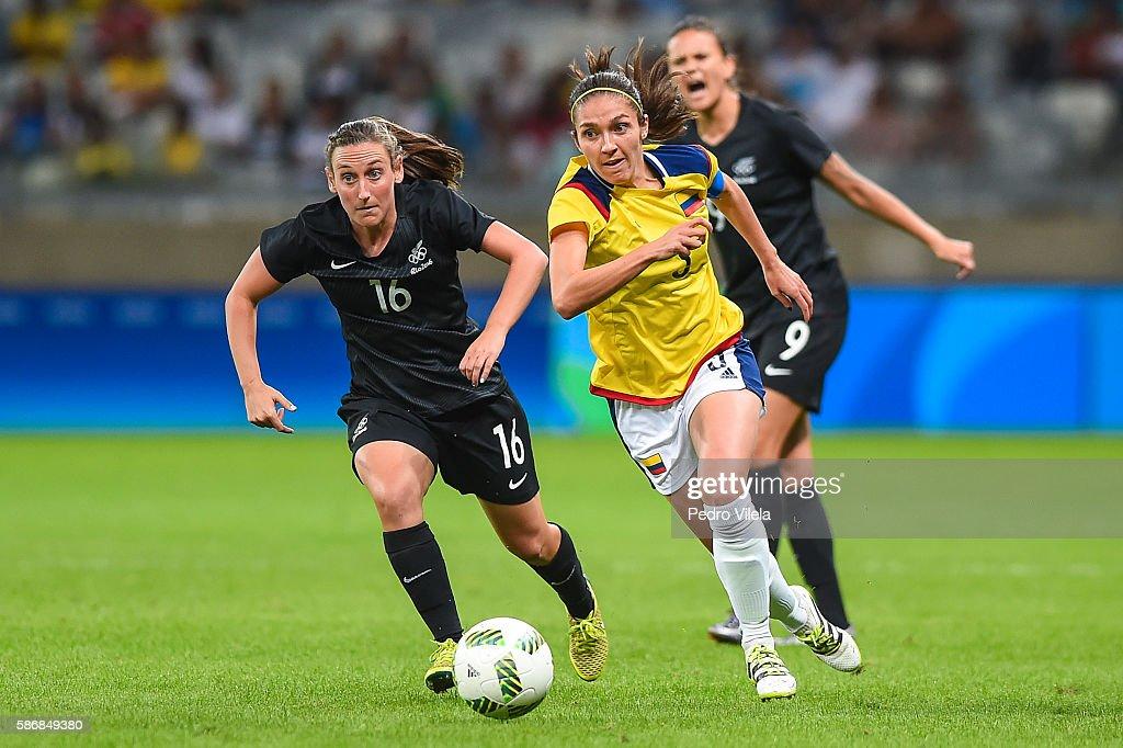 Colombia v New Zealand: Women's Football - Olympics: Day 1