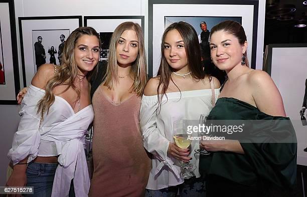 "Natalia Gomez, Gaby Beyer, Lauren Munilla, and Navila Machado attends An Evening Of Hip Hop With A Performance By Darryl ""DMC"" McDaniels on December..."