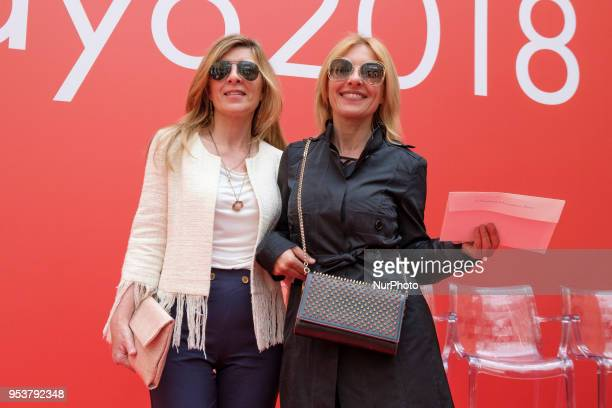 Natalia Guillen and Cayetana Guillen Cuervo during on the occasion of the Day of the Autonomous Community of Madrid in Madrid Spain 02 May 2018 The...