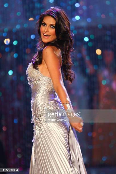Natalia Guimaraes Miss Universe Brazil 2007 during Miss Universe 2007 Show at Auditorio Nacional in Mexico City Mexico City Mexico