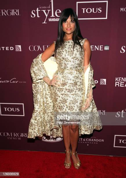 Natalia Jimenez attends the 2011 Vanidades 'Icons Of Style Awards' Gala at the Mandarin Oriental Hotel on September 22 2011 in New York City