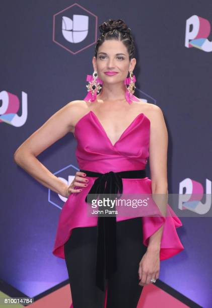 Natalia Jimenez attends the Univision's 'Premios Juventud' 2017 Celebrates The Hottest Musical Artists And Young Latinos ChangeMakers at Watsco...