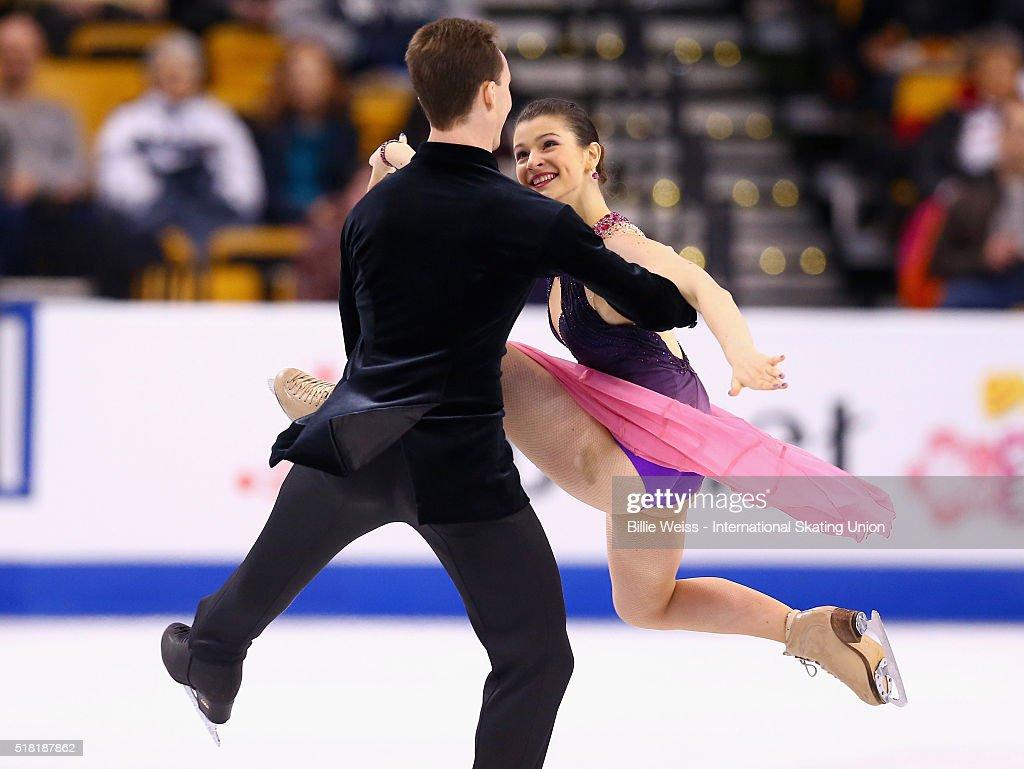 ISU World Figure Skating Championships 2016 - Day 3