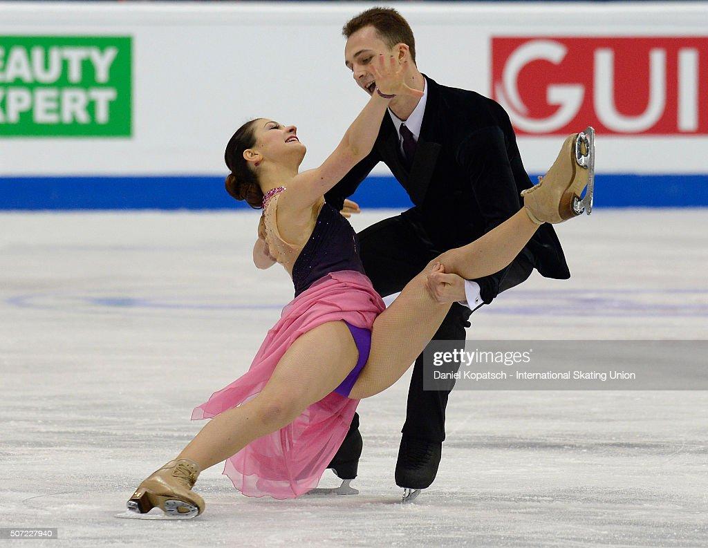 European Figure Skating Championships 2016  - Day 2