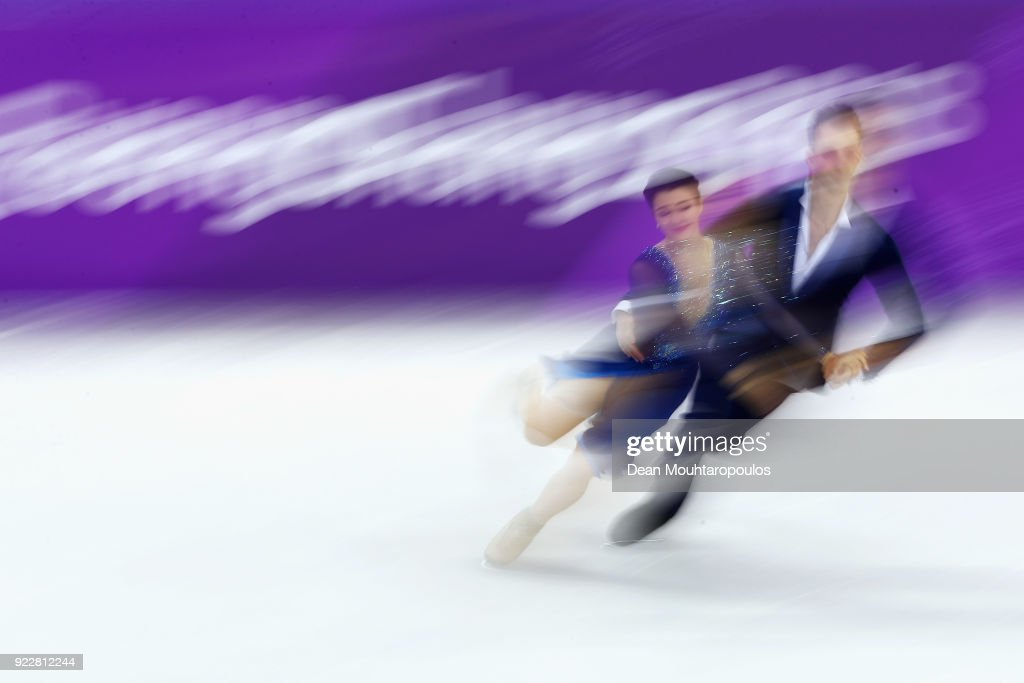 Natalia Kaliszek and Maksym Spodyriev of Poland compete in the Figure Skating Ice Dance Free Dance on day eleven of the PyeongChang 2018 Winter Olympic Games at Gangneung Ice Arena on February 20, 2018 in Gangneung, South Korea.