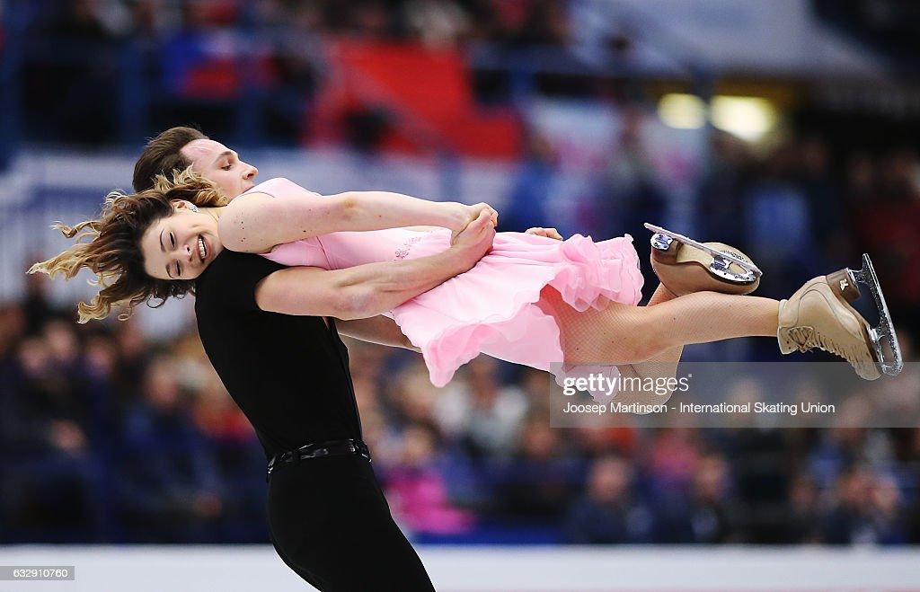 European Figure Skating Championships - Ostrava Day 4