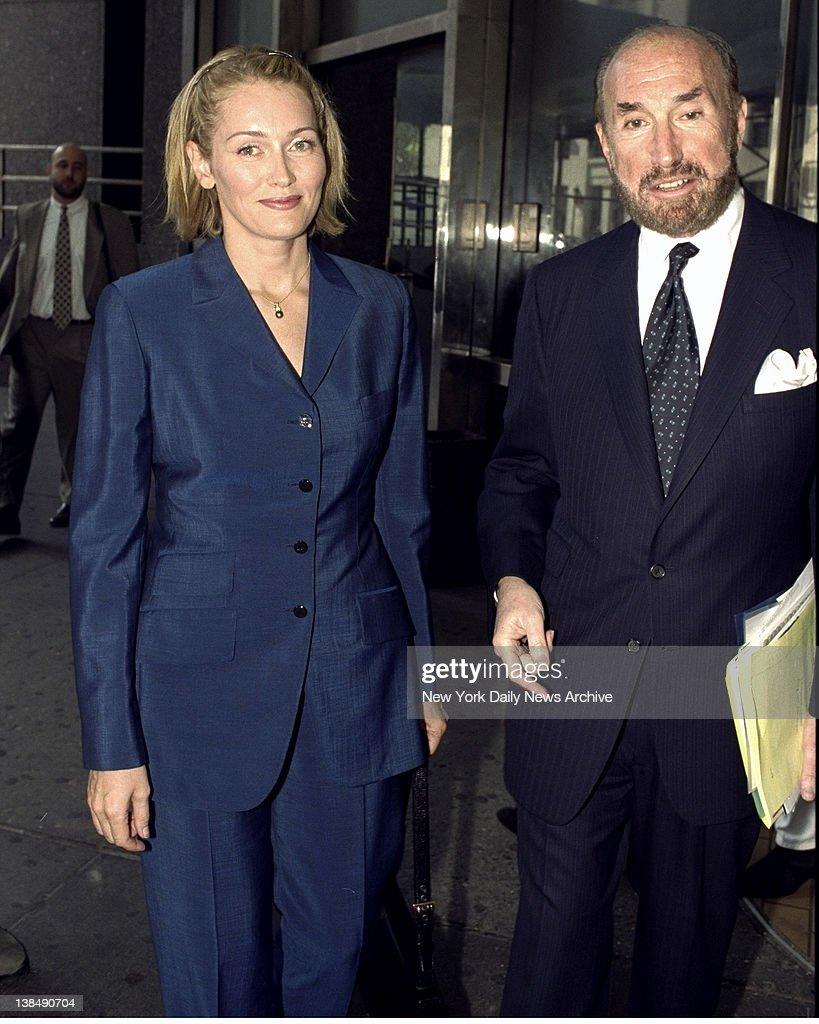 Natalia Khodaeva Leaving Manhattan Family Court With