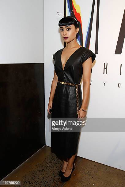 Natalia Kills attends the Cushnie Et Ochs fashion show during MADE Fashion Week Spring 2014 at Milk Studios on September 6 2013 in New York City