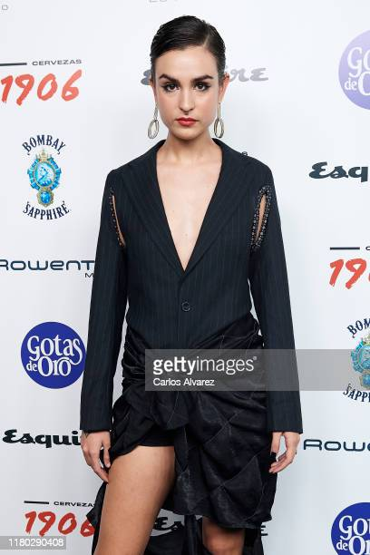 Natalia Lacunza attends 'Hombres Esquire' 2019 awards at the Kapital Club on October 10 2019 in Madrid Spain