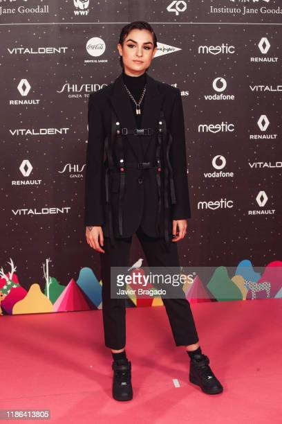 Natalia Lacunza attends 'Los40 music awards 2019' photocall at Wizink Center on November 08 2019 in Madrid Spain