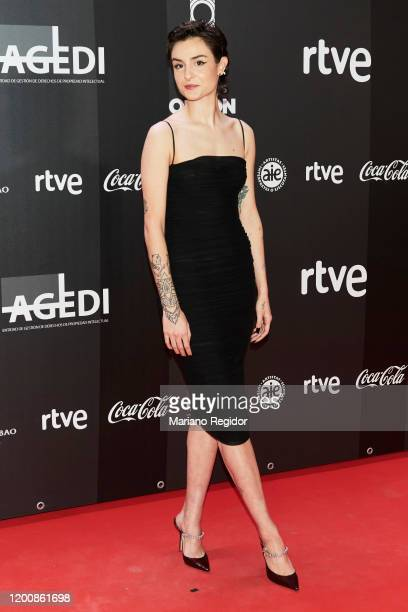 Natalia Lacunza attends Odeon Awards 2020 at Royal Theater on January 20 2020 in Madrid Spain