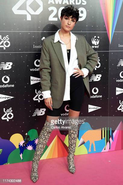 Natalia Lacunza attends the 40 Principales Awards nominated dinner at Florida Retiro on September 12 2019 in Madrid Spain