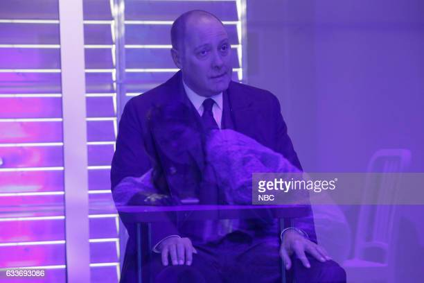 THE BLACKLIST 'Natalia Luca' Episode 412 Pictured James Spader as Raymond 'Red' Reddington Elizabeth Lail as Natalie Luca