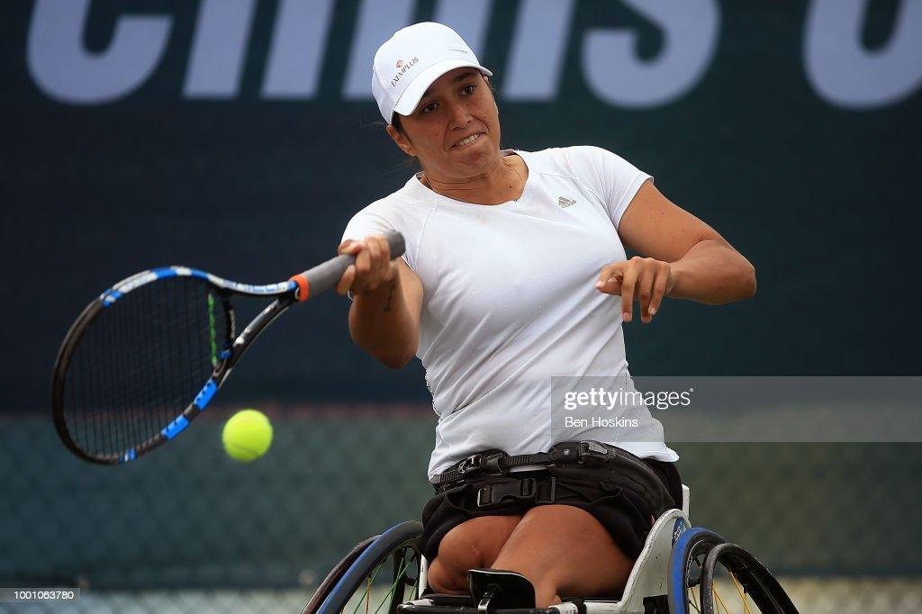 British Open Wheelchair Tennis Championships - Day Two