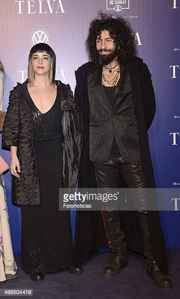 Natalia Moreno and Ara Malikian attend the 'T De Moda' Awards by Telva Magazine at the Teatro Real on December 1 2015 in Madrid Spain