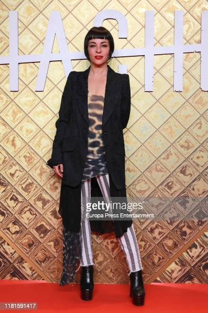 Natalia Moreno attends 'Hache' premiere by Netflix at Paz Cinema on October 16 2019 in Madrid Spain