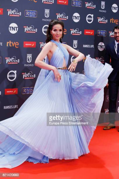 Natalia Oreiro attends Platino Awards 2017 at La Caja Magica on July 22 2017 in Madrid Spain