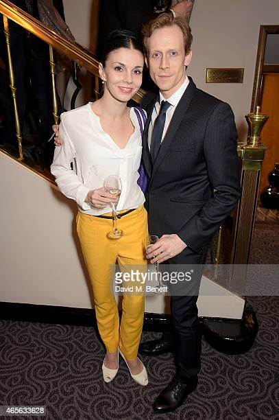 Natalia Osipova and Edward Watson attend as the London Coliseum host the 10th Anniversary of the Russian Ballet Icons Gala afterparty at The Savoy on...