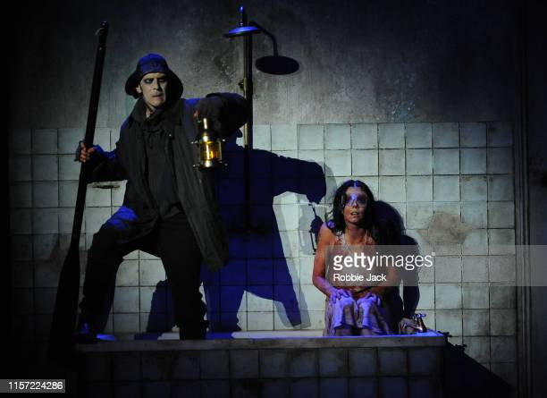 Natalia Osipova and Jonathan Goddard in Arthur Pita's The Mother at the Southbank Centre Queen Elizabeth Hall on June 19 2019 in London England
