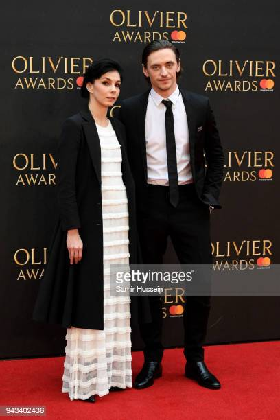 Natalia Osipova and Sergei Polunin attend The Olivier Awards with Mastercard at Royal Albert Hall on April 8 2018 in London England