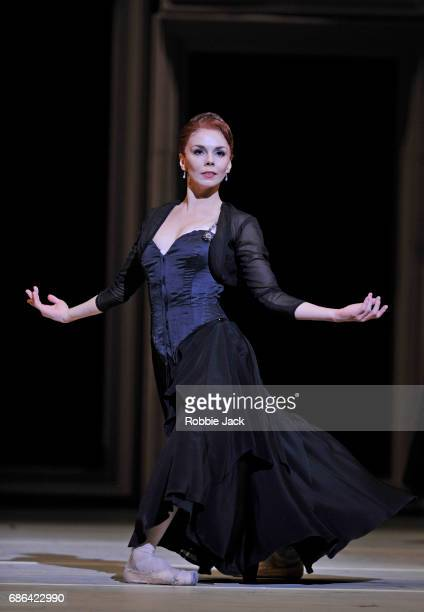 Natalia Osipova as Amelie Gautreau in the Royal Ballet's production of Christopher Weeldon's Strapless at The Royal Opera House on May 18, 2017 in...