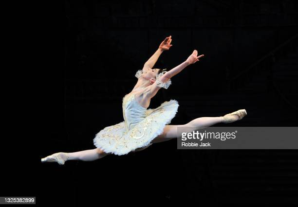 """Natalia Osipova in The Royal Ballet""""u2019s production of The Sleeping Beauty at The Royal Opera House on June 22, 2021 in London, England."""