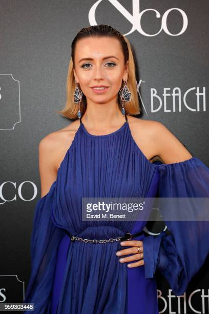 Natalia Osman attends the Jacob Co Cannes 2018 party at Nikki Beach on May 16 2018 in Cannes France
